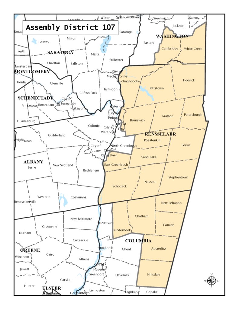 Nys Assembly District Map NY Assembly District 107 – Seeds of Democracy